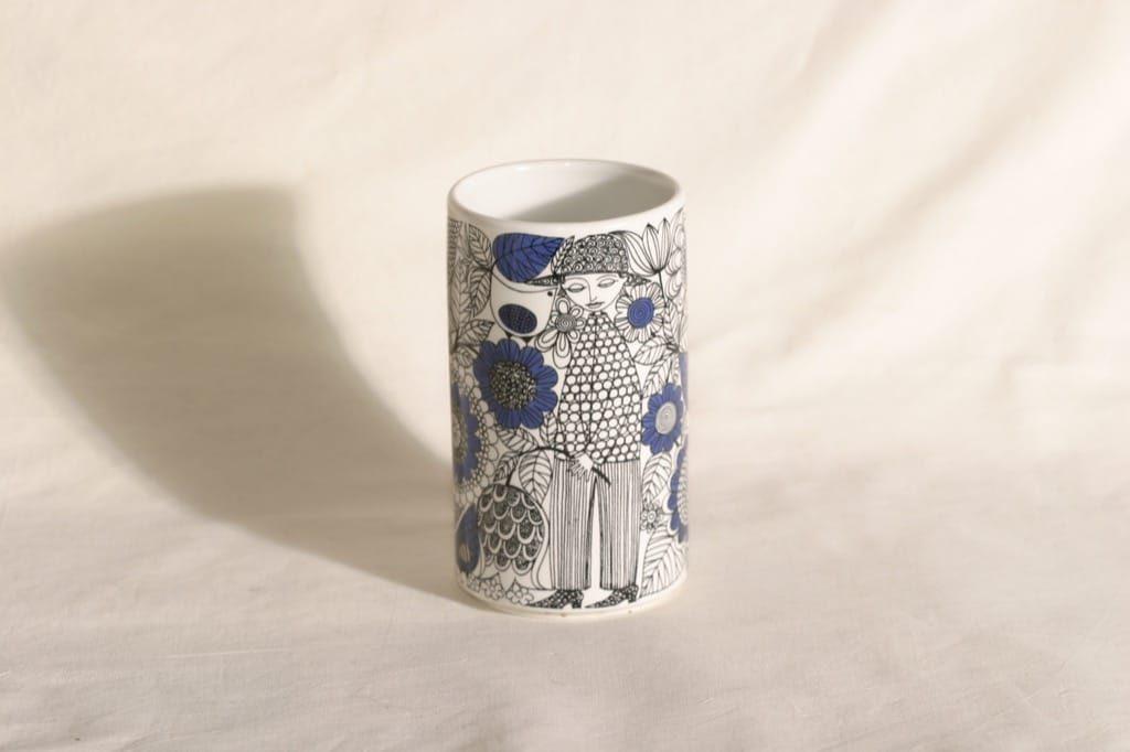 Arabia Pastoraali maljakko, suunnittelija Esteri Tomula,