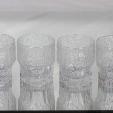 Iittala Aslak lasit, 35 cl, 4 kpl, suunnittelija Tapio Wirkkala, 35 cl