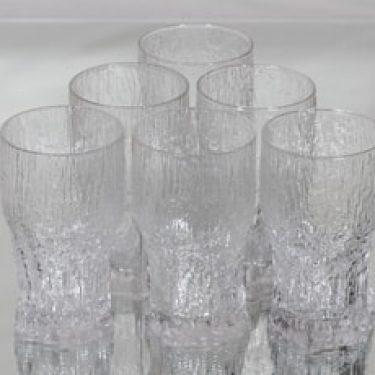 Iittala Aslak lasit, 35 cl, 6 kpl, suunnittelija Tapio Wirkkala, 35 cl