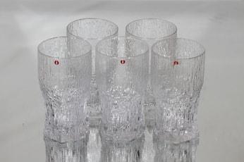 Iittala Aslak lasit, 35 cl, 5 kpl, suunnittelija Tapio Wirkkala, 35 cl
