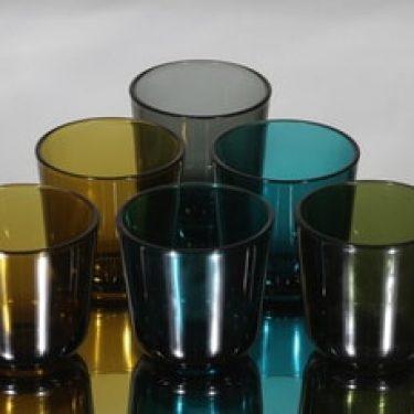 Nuutajärvi 5023 lasit, 20 cl, 6 kpl, suunnittelija Kaj Franck, 20 cl