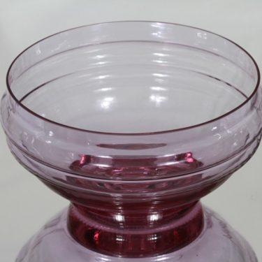 Riihimäen lasi Sulttaani kulho, ametisti, suunnittelija Nanny Still, suuri