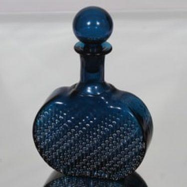 Riihimäen lasi Flindari koristepullo, 50 cl, suunnittelija Nanny Still, 50 cl