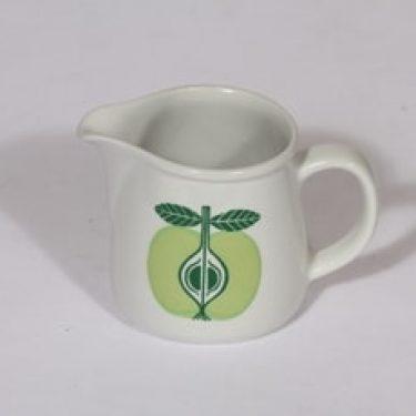 Arabia Pomona kaadin, omena, suunnittelija Raija Uosikkinen, omena, pieni, serikuva