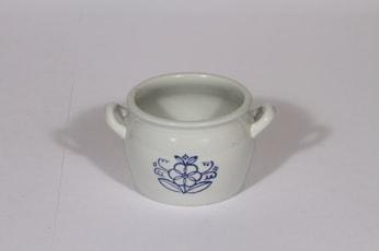 Arabia tekstikuvio voiruukku, 0.5 l, suunnittelija , 0.5 l, pieni, kobolttimaalaus
