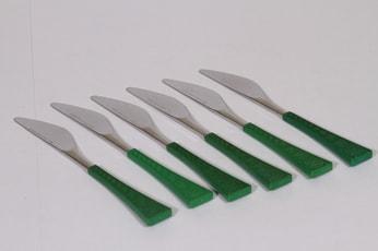 Hackman Colorina veitset, teräs, 6 kpl, suunnittelija Nanny Still, teräs