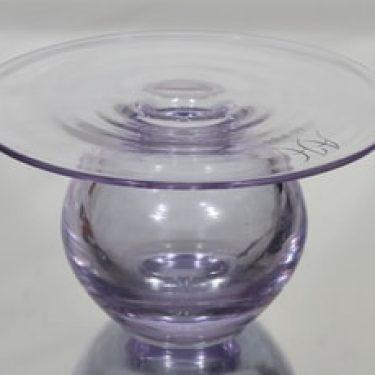Riihimäen lasi Saturnus taide-esine, signeerattu, suunnittelija Nanny Still, signeerattu, suuri