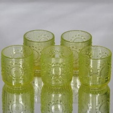 Riihimäen lasi Grapponia juomalasit, 16 cl, 5 kpl, suunnittelija Nanny Still, 16 cl