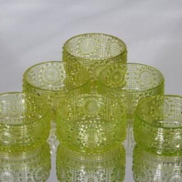 Riihimäen lasi Grapponia annoskulhot, 20 cl, 6 kpl, suunnittelija Nanny Still, 20 cl