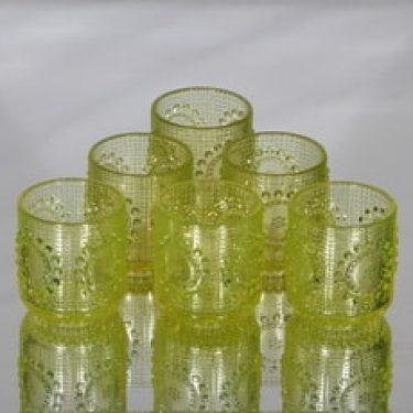 Riihimäen lasi Grapponia juomalasit, 16 cl, 6 kpl, suunnittelija Nanny Still, 16 cl