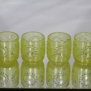 Riihimäen lasi Grapponia juomalasit, 16 cl, 4 kpl, suunnittelija Nanny Still, 16 cl