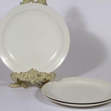 Arabia Harlekin lautaset, matala, 3 kpl, suunnittelija Inkeri Leivo, matala