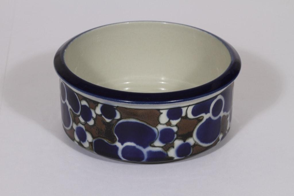 Arabia Saara kulho, sininen, suunnittelija Anja Jaatinen-Winquist, erikoiskoriste, retro