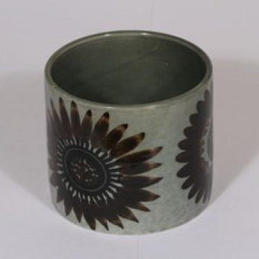 Arabia Ympyrä maljakko, käsinmaalattu, suunnittelija , käsinmaalattu, signeerattu