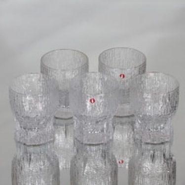 Iittala Aslak lasit, 13 cl, 5 kpl, suunnittelija Tapio Wirkkala, 13 cl