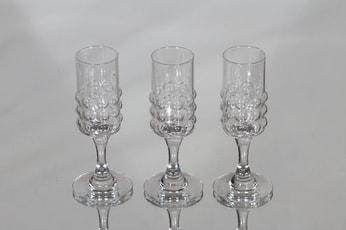 Riihimäen lasi Grappo liköörilasit, 5 cl, 3 kpl, suunnittelija Nanny Still, 5 cl