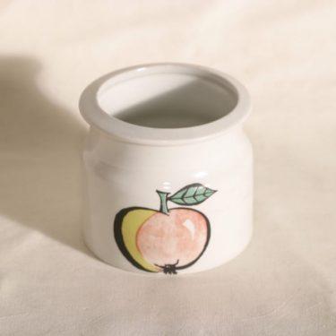 Arabia Tutti frutti purnukka, omena, suunnittelija Ulla Procopé, omena