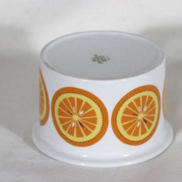 Arabia Pomona purnukka, appelsiini, suunnittelija Raija Uosikkinen, appelsiini kuva 2