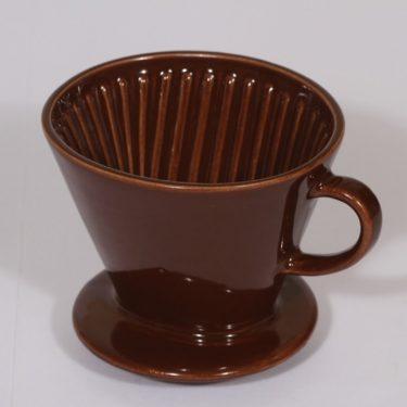 Arabia koristelematon kahvisuodatin, ruskea, suunnittelija ,