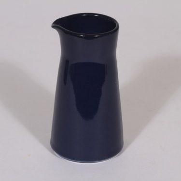 Arabia Kilta kermapullo, sininen lasite, suunnittelija Kaj Franck,
