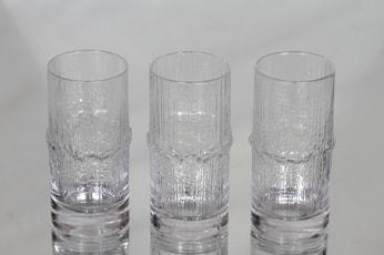 Iittala Niva lasit, 20 cl, 3 kpl, suunnittelija Tapio Wirkkala, 20 cl