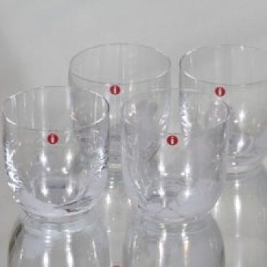 Iittala Nana lasit, 20 cl, 4 kpl, suunnittelija Mikko Karppanen, 20 cl