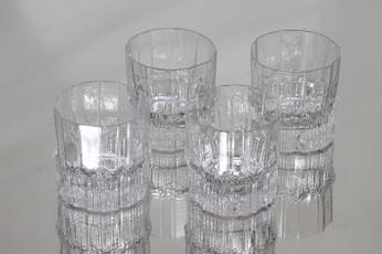 Iittala Pallas lasit, 13 cl, 4 kpl, suunnittelija Tapio Wirkkala, 13 cl