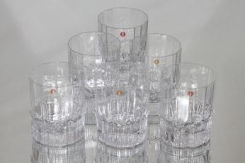 Iittala Pallas lasit, 16 cl, 6 kpl, suunnittelija Tapio Wirkkala, 16 cl