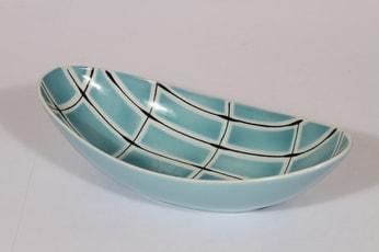 Arabia BR kulho, käsinmaalattu, suunnittelija Olga Osol, käsinmaalattu, funktionalismi