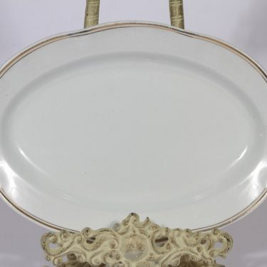 Arabia Oma platter, small, golden stripe