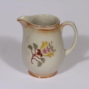 Arabia kukkakuvio kaadin, 0.5 l, suunnittelija , 0.5 l, pieni, siirtokuva, lysterifondi