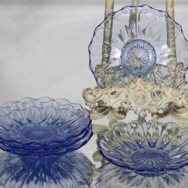 Karhula lautaset, sininen, 5 kpl, suunnittelija , pieni