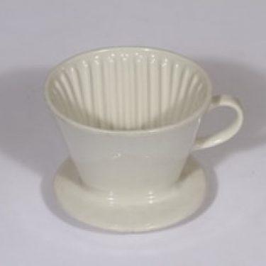 Arabia KS kahvisuodatin, valkoinen, suunnittelija , pieni