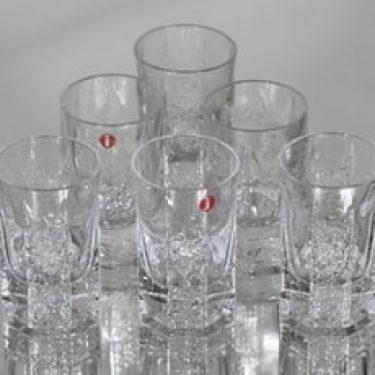Iittala Kalinka lasit, 4 cl, 6 kpl, suunnittelija Timo Sarpaneva, 4 cl, 4 cl