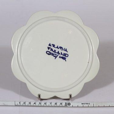Arabia Köökki talouslevy, käsinmaalattu, suunnittelija Gunvor Olin-Grönqvist, käsinmaalattu, signeerattu kuva 2