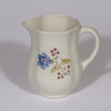 Arabia kukkakuvio kaadin, 0,5 l, suunnittelija , 0,5 l, pieni, siirtokuva, kukka-aihe