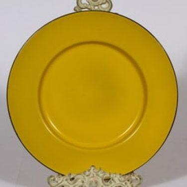 Finel lautanen, keltainen, suunnittelija ,