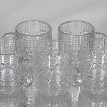 Riihimäen lasi Grapponia kupit, 10 cl, 5 kpl, suunnittelija Nanny Still, 10 cl, pieni