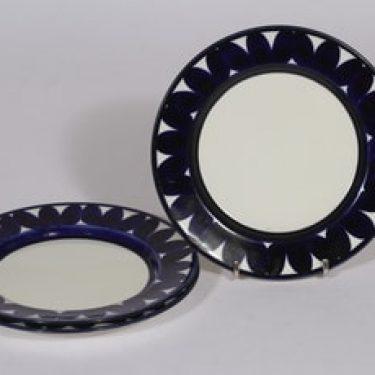 Arabia Sotka lautaset, käsinmaalattu, 3 kpl, suunnittelija , käsinmaalattu, pieni