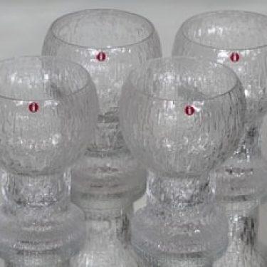 Iittala Kekkerit lasit, 28 cl, 4 kpl, suunnittelija Timo Sarpaneva, 28 cl