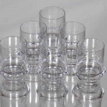 Iittala Marski glasses, 6 cl, 6 pcs, Tapio Wirkkala