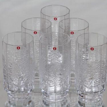 Iittala Kuusi lasit, 35 cl, 6 kpl, suunnittelija Jorma Vennola, 35 cl