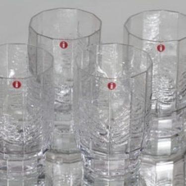 Iittala Kuusi lasit, 22 cl, 4 kpl, suunnittelija Jorma Vennola, 22 cl