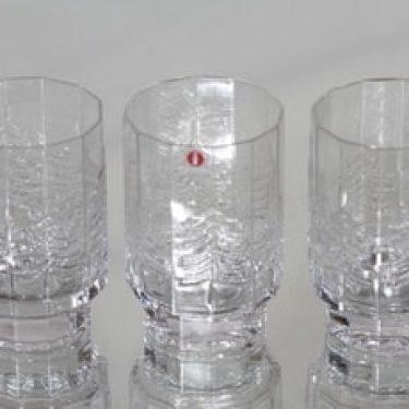 Iittala Kuusi lasit, 22 cl, 3 kpl, suunnittelija Jorma Vennola, 22 cl