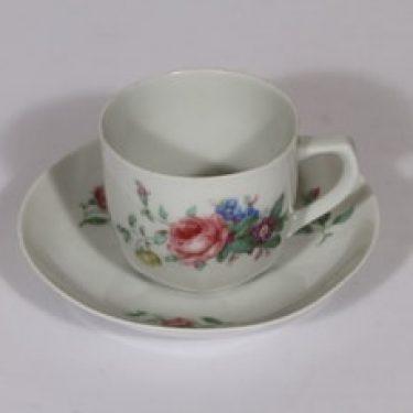 Arabia kahvikuppi, suunnittelija , kukka-aihe