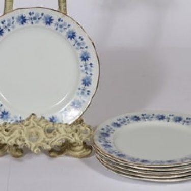 Arabia Fenno lautaset, 6 kpl, suunnittelija , pieni, serikuva