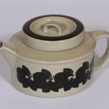 Arabia Ruija teekaadin, 1.35 l, suunnittelija , 1.35 l, käsinmaalattu, retro