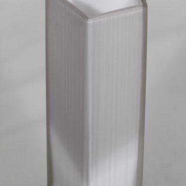 Iittala 3504 maljakko, valkoinen, suunnittelija Tapio Wirkkala,