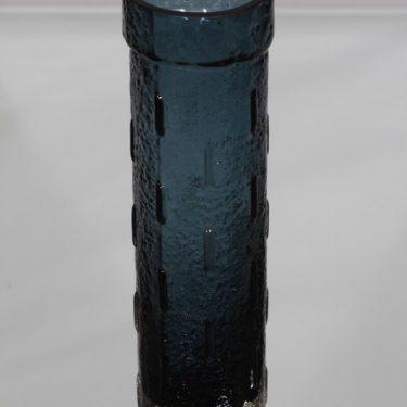 Riihimäen lasi 1461 maljakko, siniharmaa, suunnittelija Tamara Aladin,