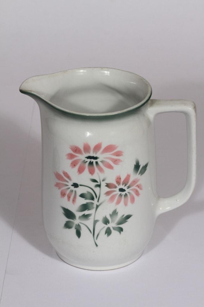 Arabia kukkakuvio kaadin, 1,5 l, suunnittelija , 1,5 l, suuri, puhalluskoriste